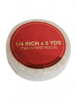 "1/4"" 6 Yards Clear Tape by Jon Renau"