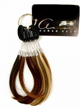 Human Hair Color Ring by Amore
