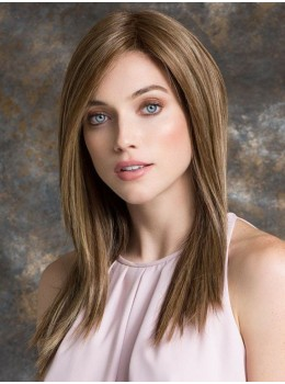 Illusion II | Remy Human Hair/ Synthetic Blend Lace Front Wig (Double Mono Top) by Ellen Wille