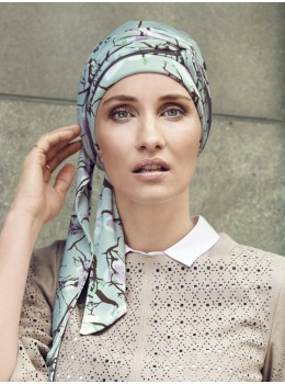 Akina Long Printed Scarf by Christine Headwear