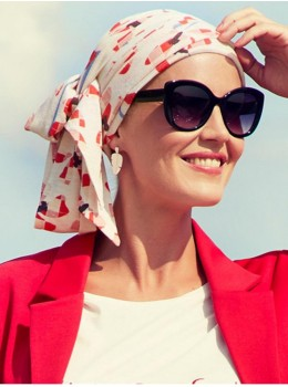 Ellone Long Printed | Headwear by Christine Headwear