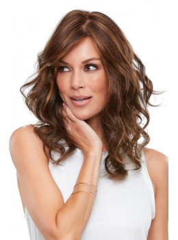 Alexis | Synthetic Double Mono Top Wig (Hand Tied) by Jon Renau FINAL SALE