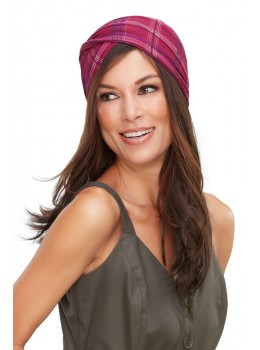 The Softie Wrap Print | Headwear by Jon Renau