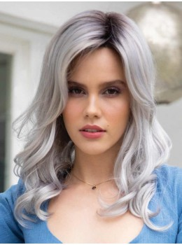 Ensley | Synthetic Lace Front Wig (Mono Part) by Rene of Paris
