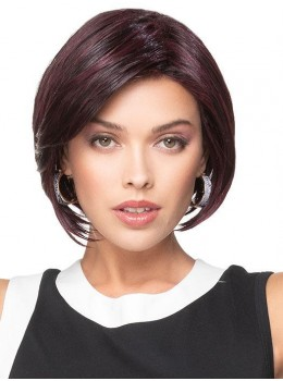 Angled Bob | HF Synthetic Lace Front Wig (Basic Cap) by TressAllure