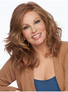 Free Time | HF Synthetic Lace Front Wig (Mono Top) by Raquel Welch