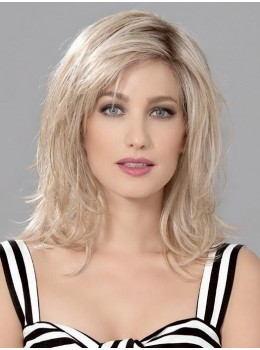 Interest | Human/Synthetic Hair Blend Lace Front Wig (Mono Part) by Ellen Wille