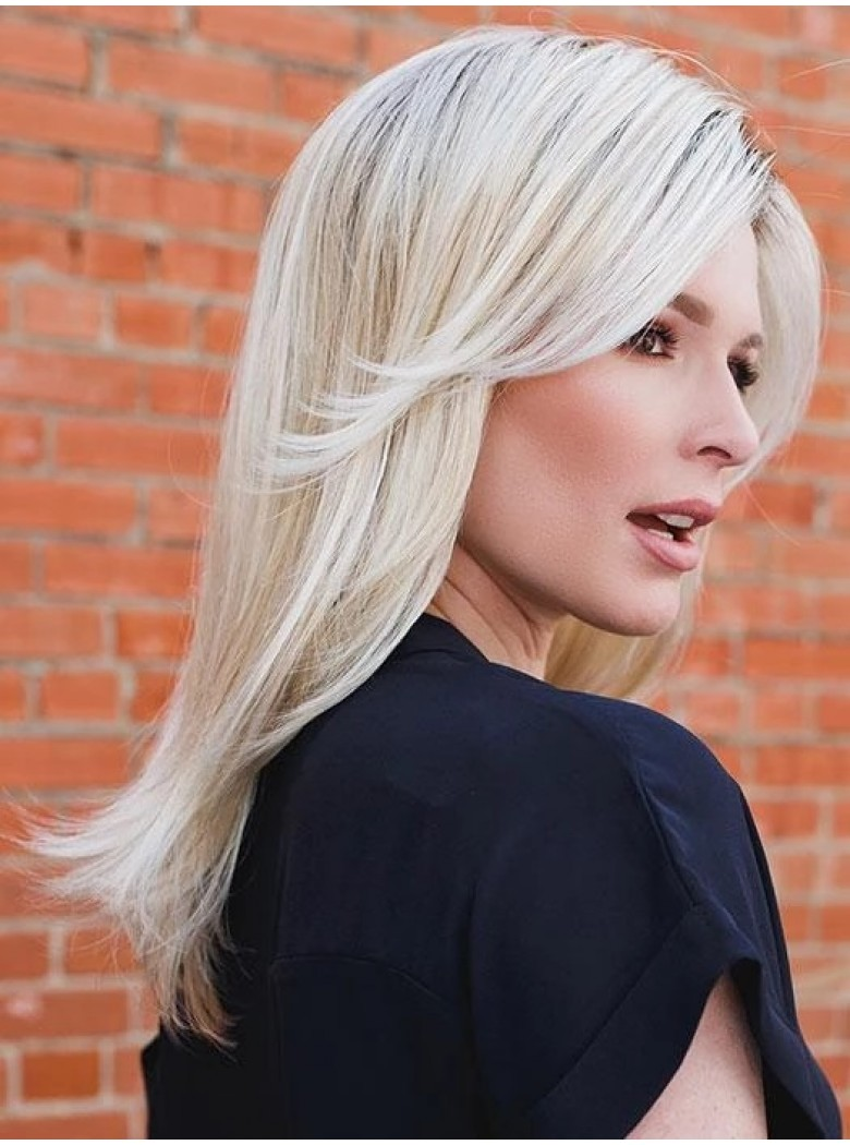 Impress | Synthetic Wig (Mono Crown) by Ellen Wille