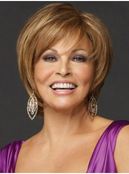 Opening Act | Heat-Friendly Synthetic Hair Lace Front Wig (Mono Top) by Raquel Welch