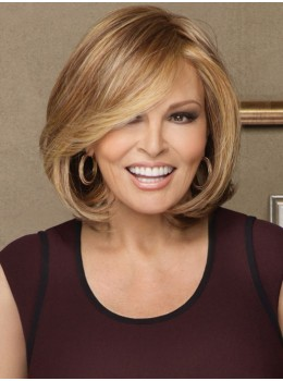 Upstage Large | Heat-Friendly Synthetic Lace Front Mono Top Wig (Hand-Tied) by Raquel Welch